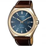CITIZEN Eco-Drive Brown Leather Strap AW1573-11L