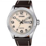 CITIZEN Eco-Drive Brown Leather Strap BM8530-11X