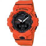 CASIO G-SHOCK Bluetooth Orange Rubber Strap GBA-800-4AER