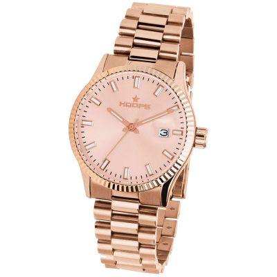 HOOPS Luxury L Rose Gold Bracelet Metallic 2590LG05