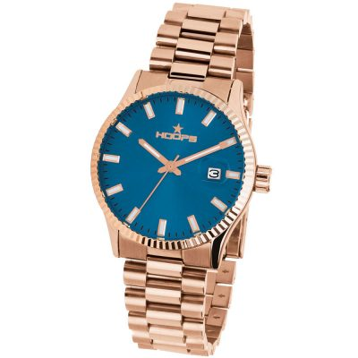 HOOPS Luxury L Rose Gold Bracelet Metallic 2590LG06