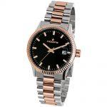 HOOPS Luxury L Two Tone Metallic Bracelet 2590LSRG01