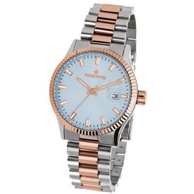 HOOPS Luxury L Two Tone Metallic Bracelet 2590LSRG04