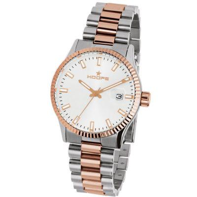 HOOPS Luxury L Two Tone Metallic Bracelet 2590LSRG07