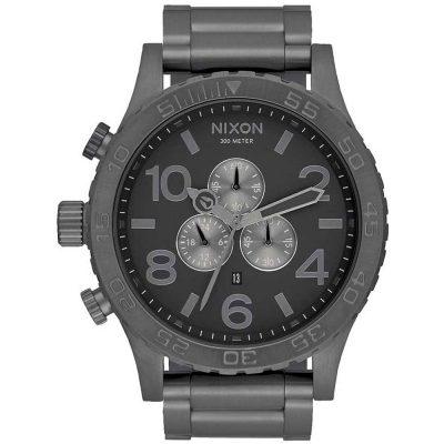 NIXON 51-30 Black Stainless Steel Bracelet A083-632