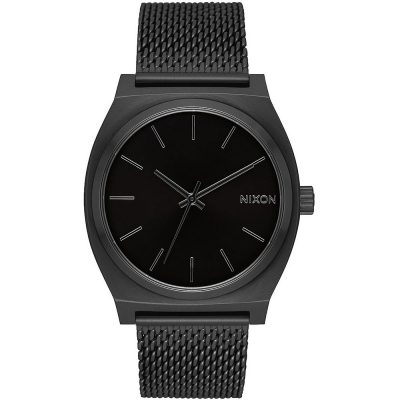 NIXON Time Teller Black Stainless Steel Bracelet A1187-001