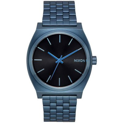 NIXON Time Teller Blue Stainless Steel Bracelet A045-2666
