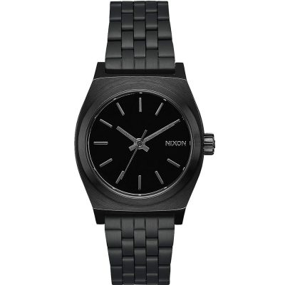 NIXON Time Teller Black Stainless Steel Bracelet A1130-001