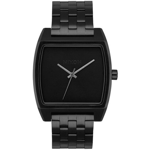 NIXON Time Tracker Black Stainless Steel A1245-001