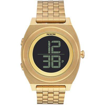 Nixon Time Teller Digi Gold Stainless Steel Bracelet A948-502