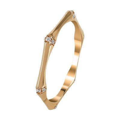 Ροζ Χρυσό Μοντέρνο Δαχτυλίδι Κ14 DX96786