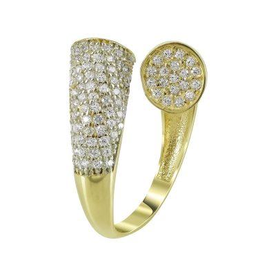 Kίτρινο Χρυσό Μοντέρνο Δαχτυλίδι Κ14 DX98073