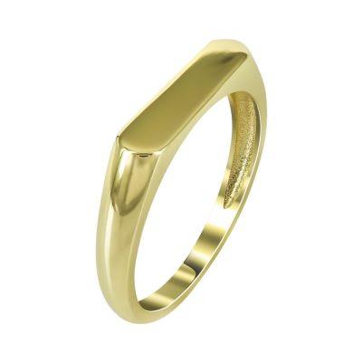 Kίτρινο Χρυσό Mοντέρνο Δαχτυλίδι Κ14 DX97376