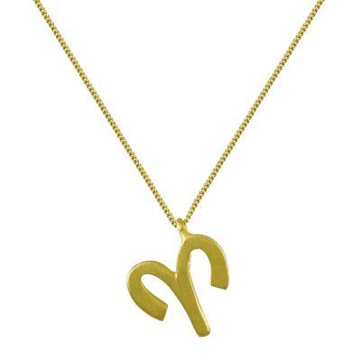 Κίτρινο Χρυσό Ζώδιο ΚΡΙΟΣ Κ14 ZD213