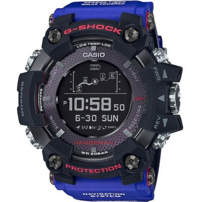 CASIO G-SHOCK Team Land Cruiser Rangeman Blue Rubber Strap GPR-B1000TLC-1