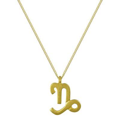 Κίτρινο Χρυσό Ζώδιο ΑΙΓΟΚΕΡΩΣ Κ14 ZD222