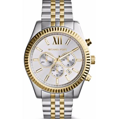MICHAEL KORS Lexington Two Tone Stainless Steel Bracelet MK8344