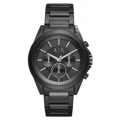 ARMANI EXCHANGE Drexler Black Stainless Steel Chronograph AX2601