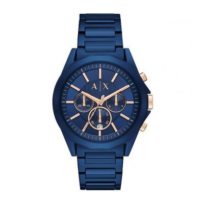 ARMANI EXCHANGE Drexler Blue Stainless Steel Chronograph AX2607