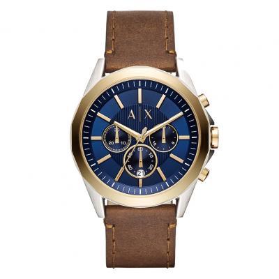 ARMANI EXCHANGE Drexler Brown Leather Chronograph AX2612