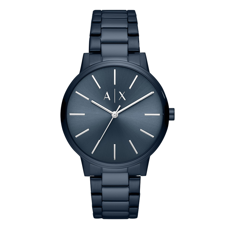 ARMANI EXCHANGE Cayde Blue Stainless Steel Bracelet AX2702