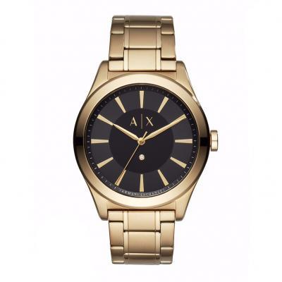ARMANI EXCHANGE Niko Boxed Gold Stainless Steel Bracelet AX7104