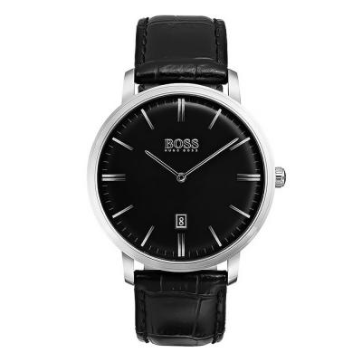 HUGO BOSS Black Leather Strap 1513460