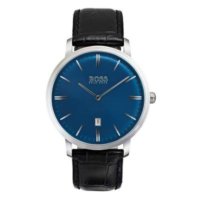 HUGO BOSS Black Classic Tradition Black Leather Strap 1513461