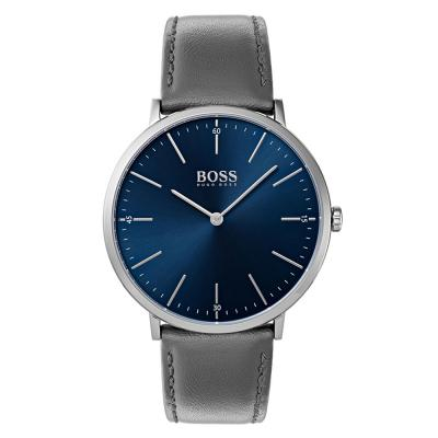 HUGO BOSS Horizon Grey Leather Strap 1513539