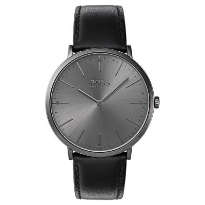 HUGO BOSS Horizon Black Leather Strap 1513540