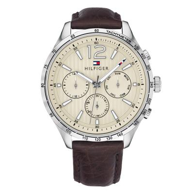Tommy HILFIGER Gavin Brown Leather Strap 1791467