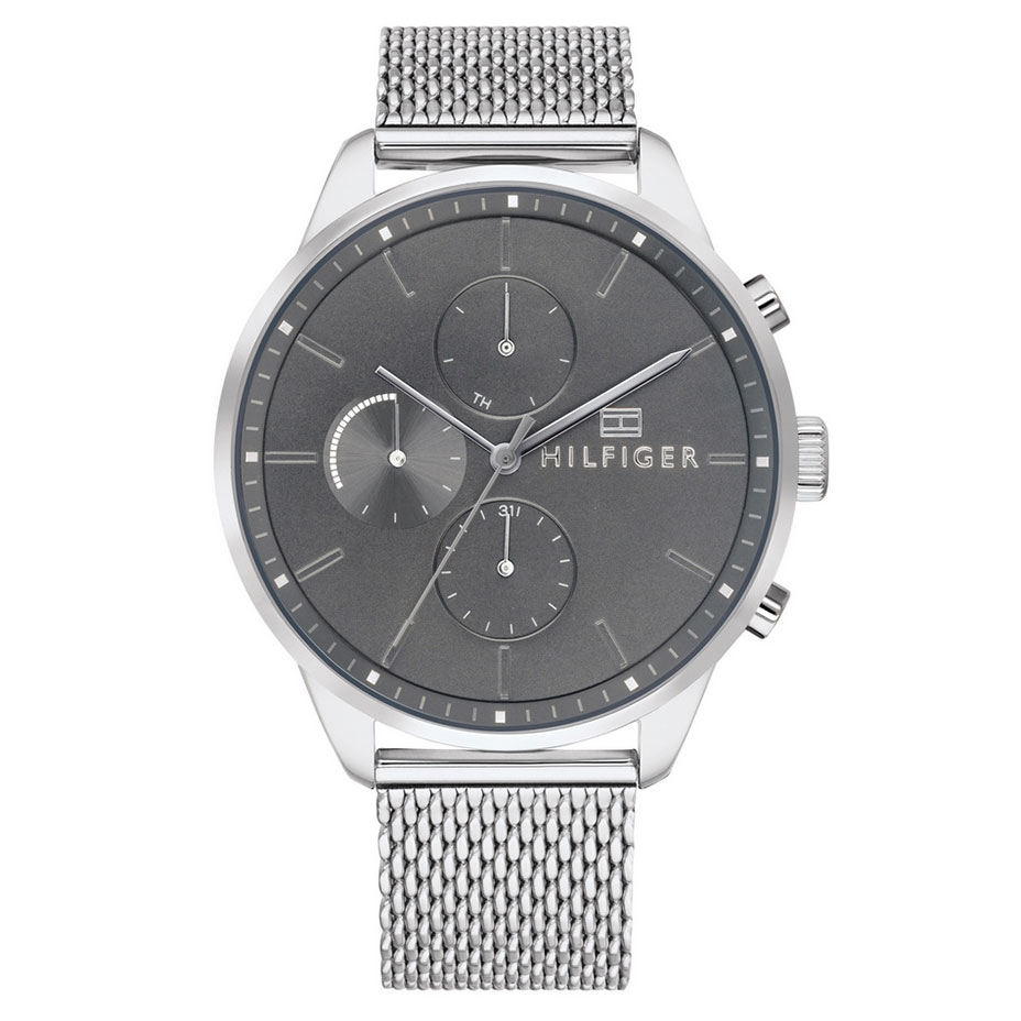 Tommy HILFIGER Chase Multifunction Stainless Steel Bracelet 1791484