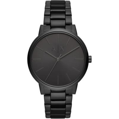 ARMANI EXCHANGE Cayde Black Stainless Steel Bracelet AX2701