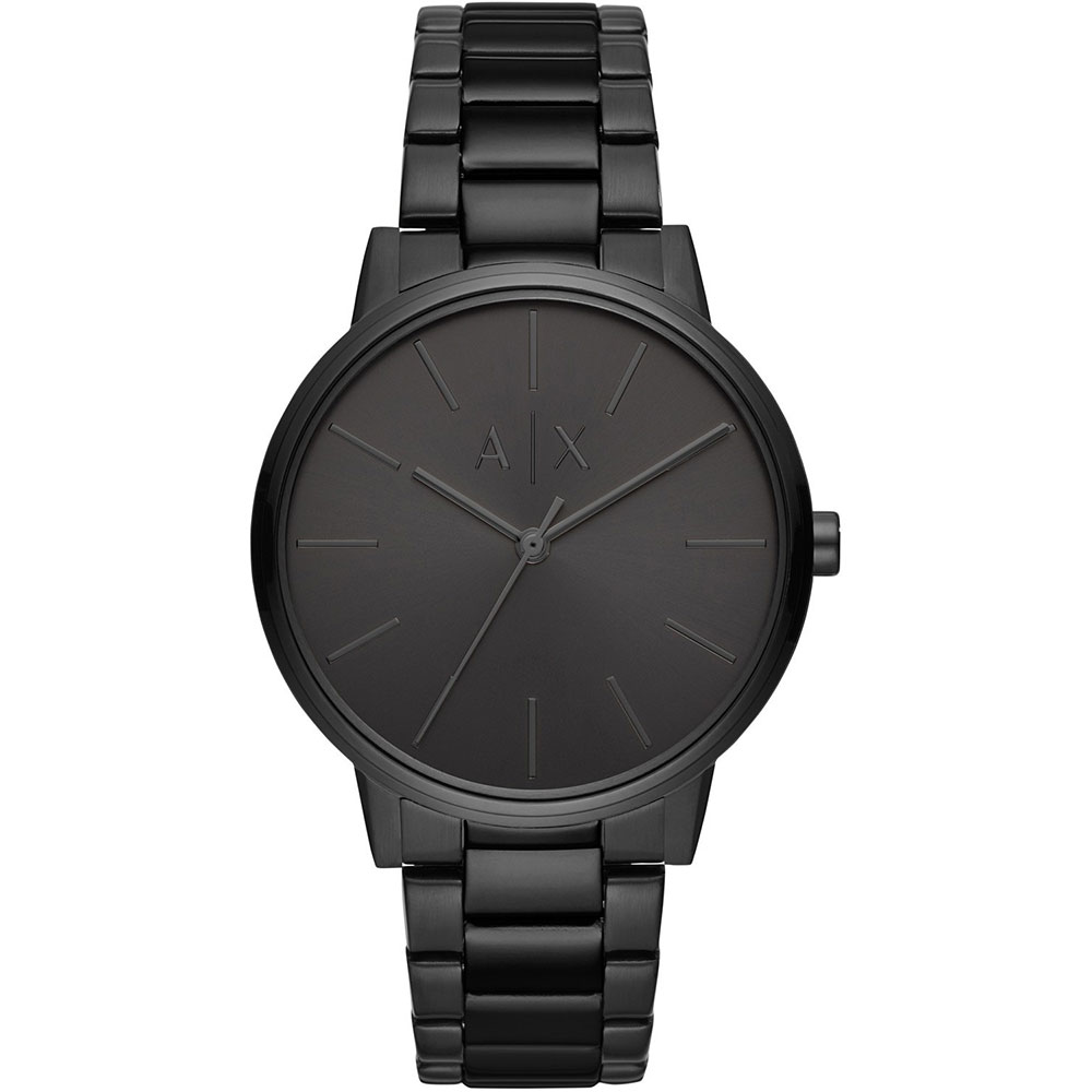ARMANI EXCHANGE Cayde Black Stainless Steel Bracelet AX2701