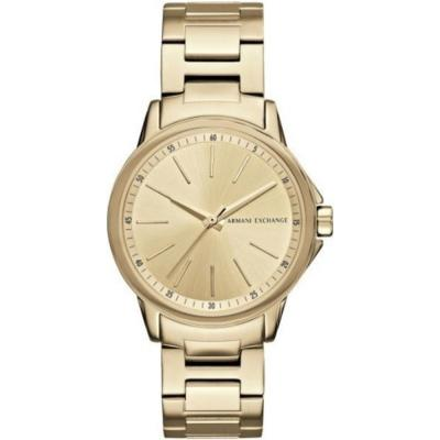 ARMANI EXCHANGE Banks Gold Stainless Steel Bracelet AX4346