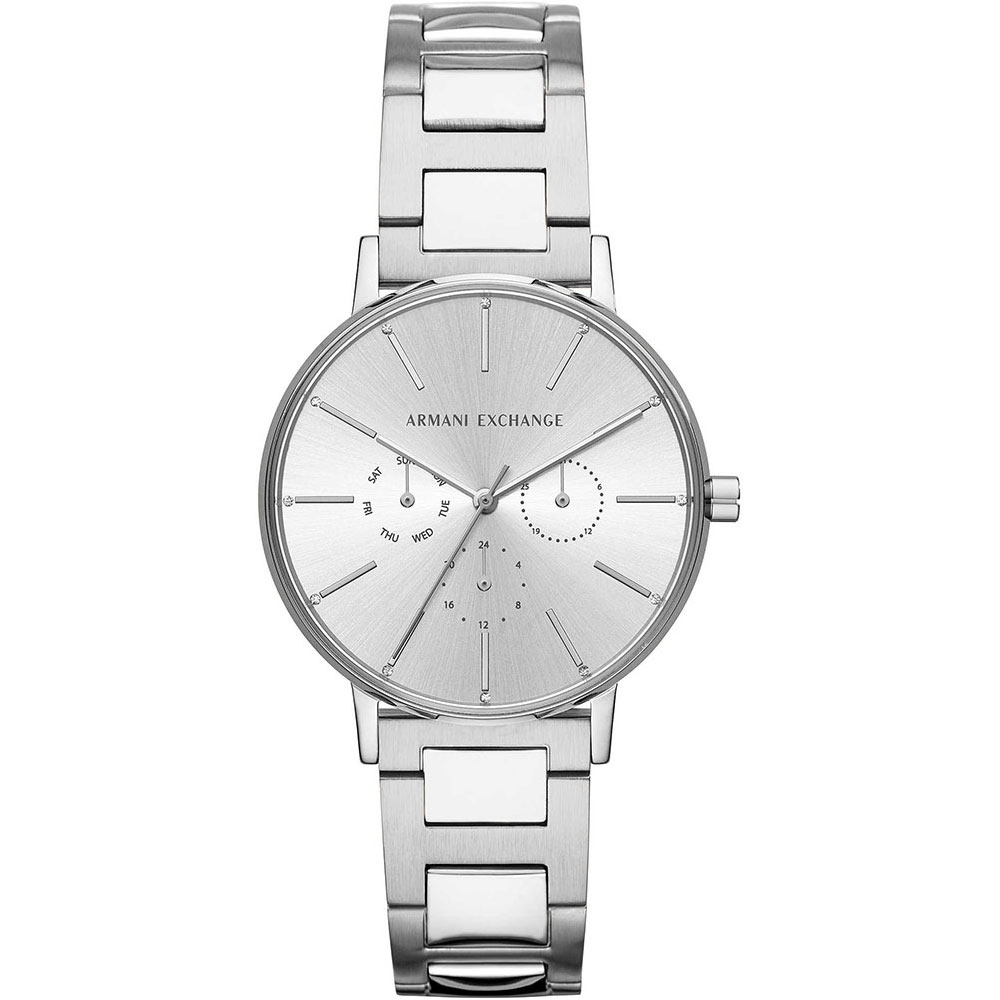 ARMANI EXCHANGE Ladies Silver Stainless Steel Bracelet AX5551