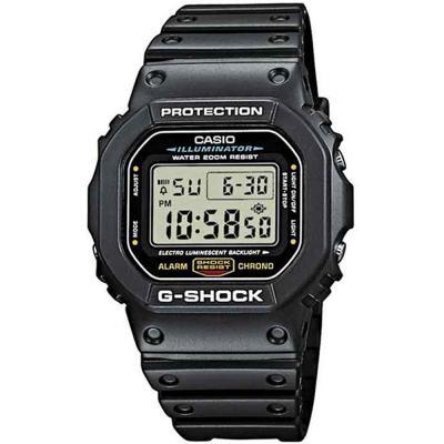 CASIO G-SHOCK Black Rubber Strap DW-5600E-1V