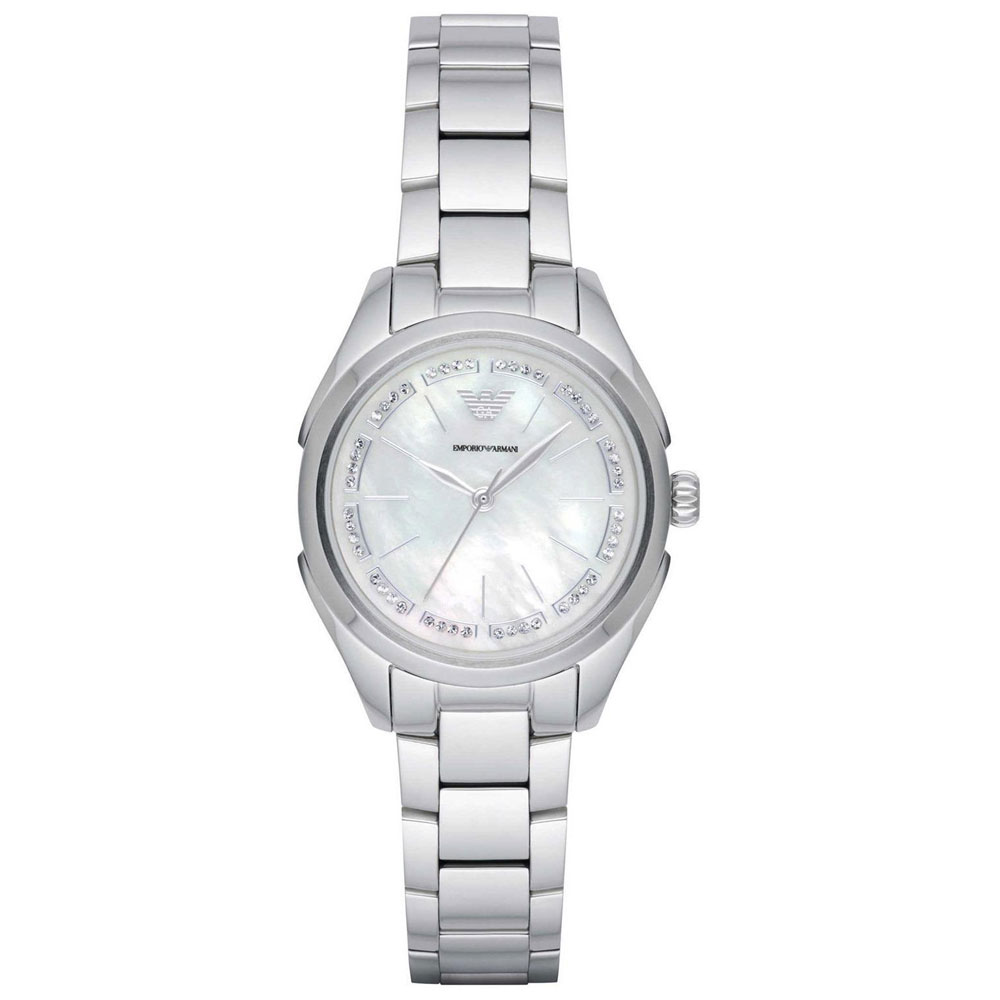 EMPORIO ARMANI Valeria Crystals Stainless Steel Bracelet AR11030