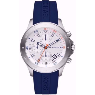 MICHAEL KORS Walsh Blue Rubber Strap MK8566