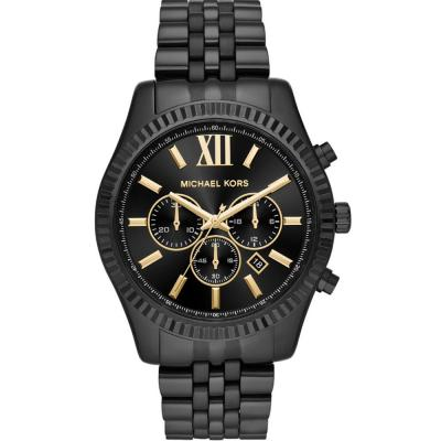 MICHAEL KORS Lexington Black Stainless Steel Bracelet MK8603