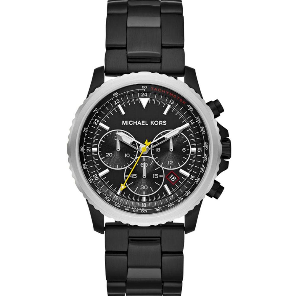 MICHAEL KORS Theroux Black Stainless Steel Bracelet MK8643