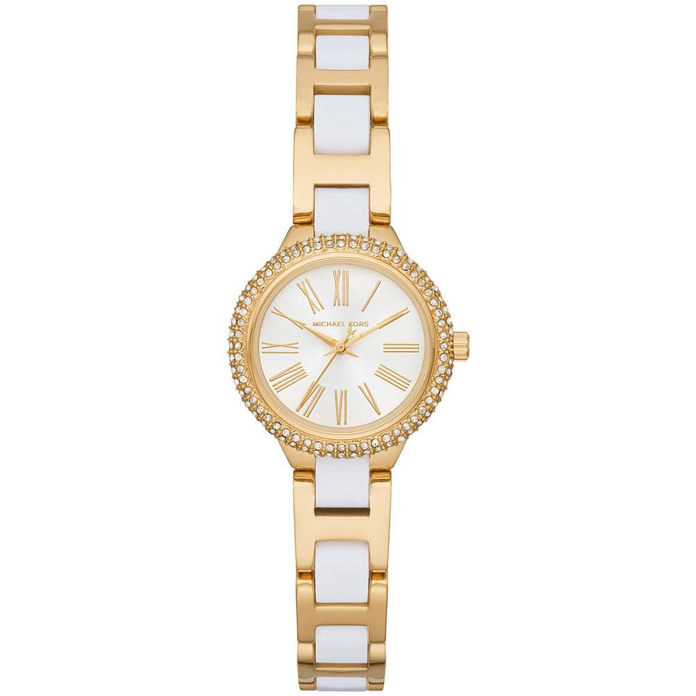 MICHAEL KORS Taryn Crystals Gold Stainless Steel Bracelet MK6581