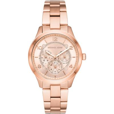 MICHAEL KORS Runway Rose Gold Stainless Steel Bracelet MK6589