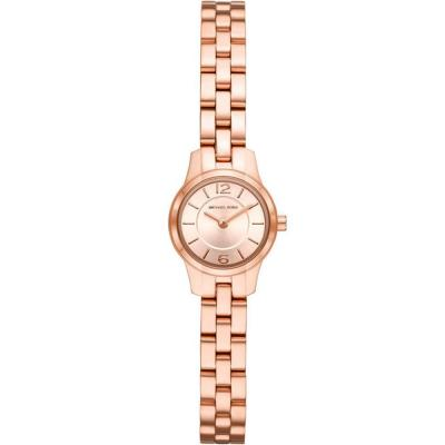 MICHAEL KORS Petite Runway Rose Gold Stainless Steel Bracelet MK6593