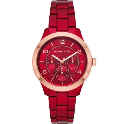 MICHAEL KORS Runway Red Stainless Steel Bracelet MK6594