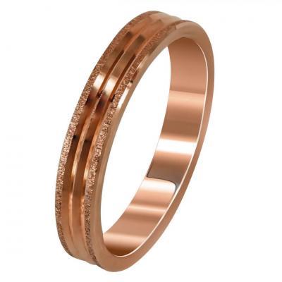 Ροζ Χρυσή Βέρα Γάμου WR272R