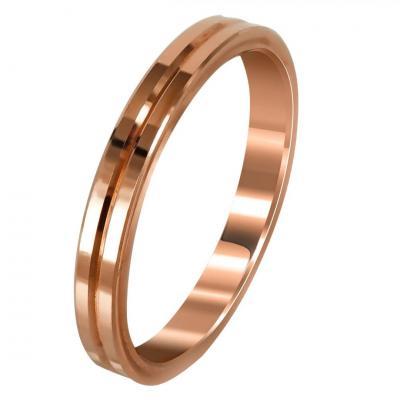Ροζ Χρυσή Βέρα Γάμου WR273RΡοζ Χρυσή Βέρα Γάμου WR273R