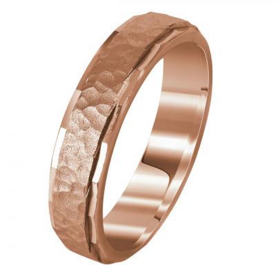 Ροζ Χρυσή Βέρα Γάμου WR279R