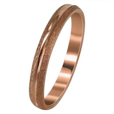Ροζ Χρυσή Βέρα Γάμου WR287R