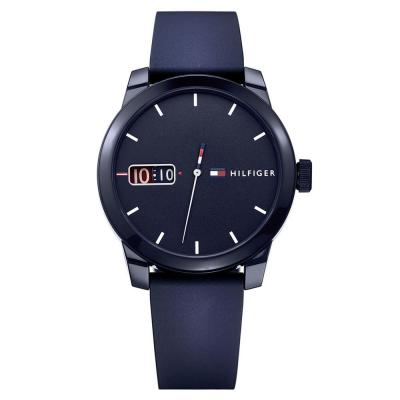 TOMMY HILFIGER Denim Blue Rubber Strap 1791381